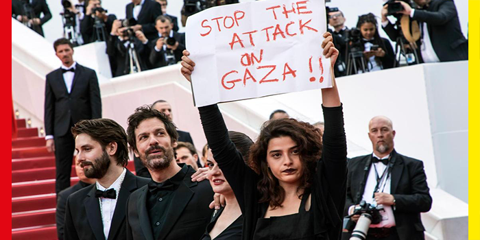 protests at Cannes