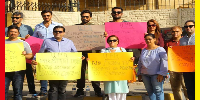 Protest against Indian Dramas by Leading Pakistani Actors