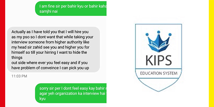 Sexual Harassment at KIPS Campuses Now Becoming a Norm