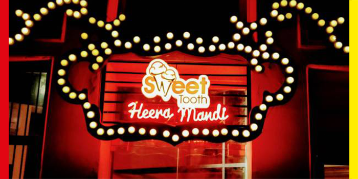 "Sweet Tooth Heera Mandi Branch is Shouting ""Say No to Taboo"""
