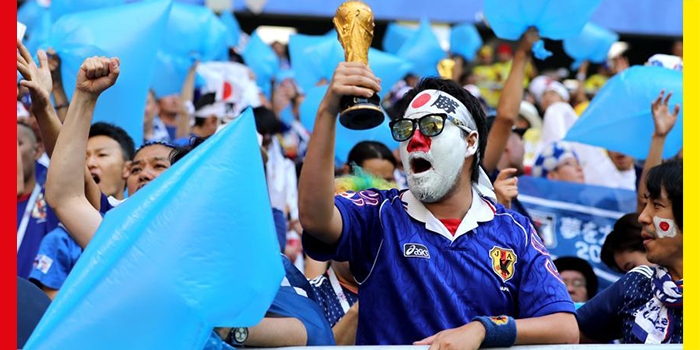 Japan and Senegal Football Fans are Setting an Amazing Trend in FIFA World Cup