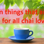 Chai lovers