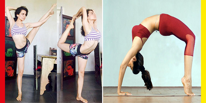 Bollywood Celebrities Show Off Yoga Poses on International Yoga Day