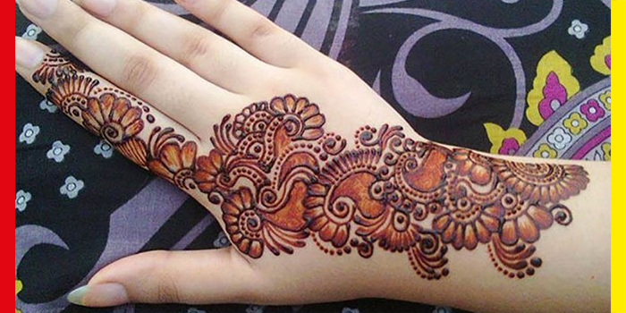 Here are the Most Beautiful Henna Designs you Can Try On Eid