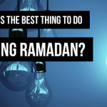 good deeds in Ramadan