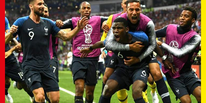 Here's All The Dramatic Things That Happened During FIFA World Cup Final 2018
