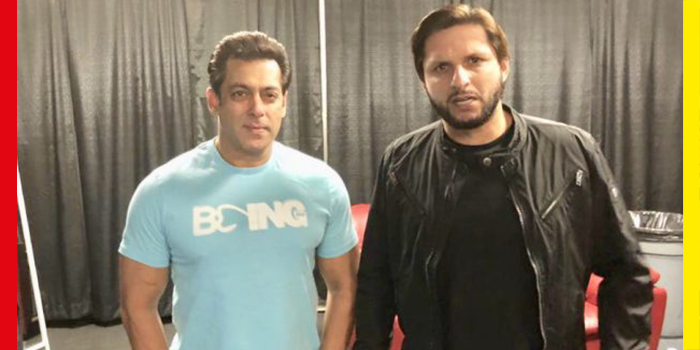 Shahid Afridi aka LALA Has Been Spotted With Salman Khan in Canada