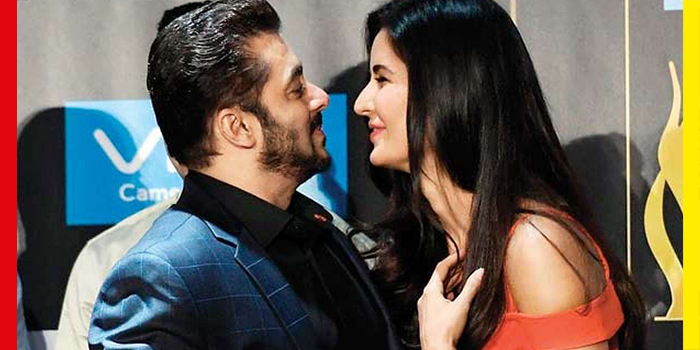 OMG! Salman Khan Just Called Katrina Kaif His 'Baby' In Front Of The World